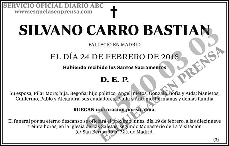 Silvano Carro Bastian